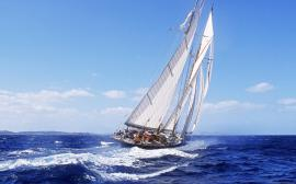 Sailing in the wind