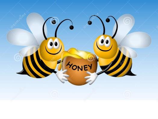 busy-cartoon-bees-honey-5284606